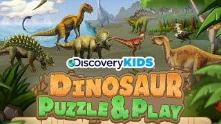 Download Discovery Kids Dinosaur Puzzles and Play | Educational Puzzle App for Kids Video