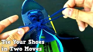 Download How to Tie Your Shoes Fast Way- Two moves Video
