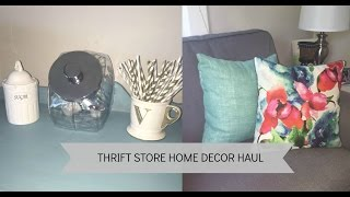 Download Thrift Store Home Decor Haul Video
