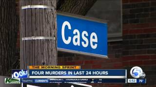Download Four Murders Happened Within 24 Hours In Cleveland Ahead Of The RNC Convention Video