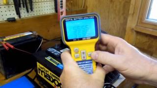 Download Harbor Freight Digital Automotive Battery Analyzer (Item 66892) Video