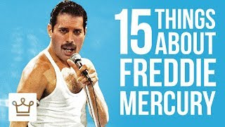 Download 15 Things You Didn't Know About Freddie Mercury Video