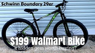 Download $199 Walmart Schwinn Boundary 29er - A cheap mountain bike that works? Video