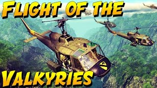 Download FLIGHT OF THE VALKYRIES! (Heliborne Gameplay and Epic Moments) Video