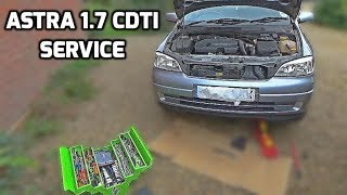 Download Vauxhall Astra 1.7 CDTI Service Video