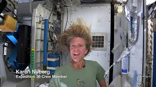 Download Astronaut Tips: How to Wash Your Hair in Space | Video Video