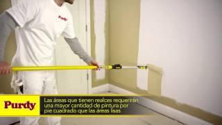 Download Cómo Pintar Con Rodillo | Herramientas de Pintura Purdy Video