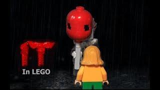 Download LEGO IT - Georgie meets Pennywise scene (horror brickfilm) Video
