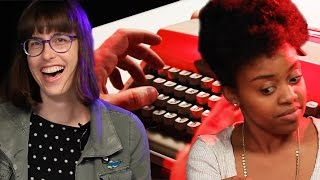 Download People Try Typewriters For The First Time Video