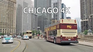 Download Driving Downtown - Chicago 4K - USA Video