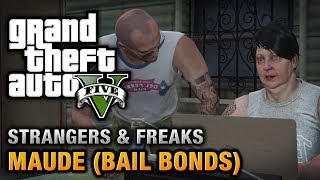 Download GTA 5 - Maude (Bail Bonds) [Wanted: Alive or Alive Achievement / Trophy] Video