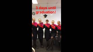 Download Cabin Crew Training on Qantas Snapchat Video