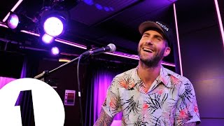 Download Maroon 5 cover Pharrell's Happy in the Live Lounge Video