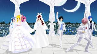 Download [MMD x Fairy Tail] Live For The Night (Natsu, Lucy, Juvia, Gray, Jellal, Erza) Video