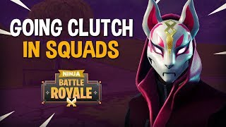 Download Going Clutch In Squads!! - Fortnite Battle Royale Gameplay - Ninja Video