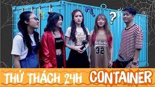 Download LA LA SCHOOL   THỬ THÁCH 24H TRONG CONTAINER - NÓNG NỰC & KHÓ KHĂN   CHALLENGE SERIES-DÁM LÀM KHÔNG? Video