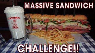 Download MASSIVE ITALIAN SUB SANDWICH CHALLENGE!! Video