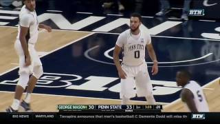 Download George Mason at Penn State - Men's Basketball Highlights Video