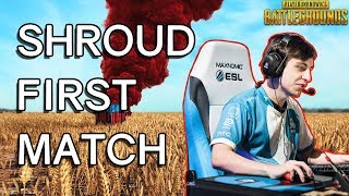 Download Shrouds FIRST Time Playing PUBG - Player Unknown's Battlegrounds Video