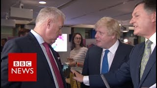 Download Boris Johnson vs Ian Lavery: 'You pointed in my face' BBC News Video