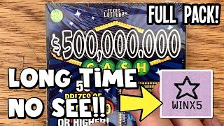 Download **FULL PACK!!** 💰 $500 in $500,000,000 Cash Lottery Scratch Off Tickets Video