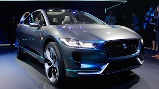 Download Jaguar i-Pace Concept - FIRST LOOK Video