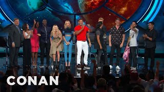 Download The ″Suicide Squad″ Cast's Rockstar Entrance - CONAN on TBS Video