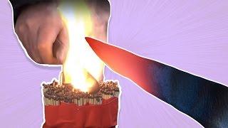 Download 1000 Derece Bıçakla Orbeezleri Kestik, Kibritleri Yaktık Video