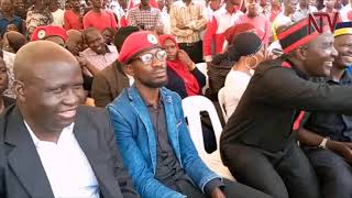 "Download Bobi wine ""escapes""house arrest, turns up in Bugiri Video"