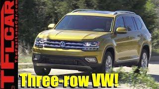 Download 2018 VW Atlas Review: Top 10 Most Unexpected Surprises! Video