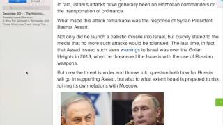Download Israel's Strong Relationship With Russia Needs No Testing Video