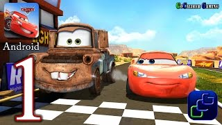 Download Cars: Fast as Lightning Android Walkthrough - Gameplay Part 1 - Todd's Race Track Video