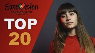 Download top 20 gems lost in National finals | Eurovision 2018 Video