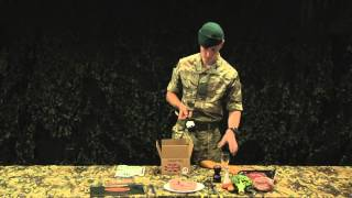 Download Royal Marines Reserves: ration pack demonstration Video
