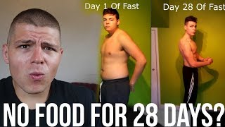 Download No FOOD For 28 DAYS?! (Response) Are You SERIOUS?! Video