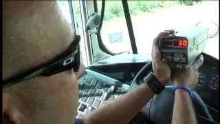 Download Constable uses school bus as decoy to catch speeders Video
