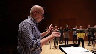 Download Conductor Donald Nally explores contemporary chaos through choral music Video