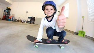 Download 4 Year Old OLLIE PRACTICE! Video