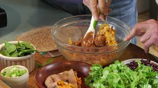 Download Sweet Potato and Black Bean Quesadillas with Jane and Ann Video