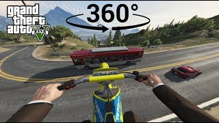 Download Chasing a Jet on a Dirtbike in VR - GTA V 360° Video