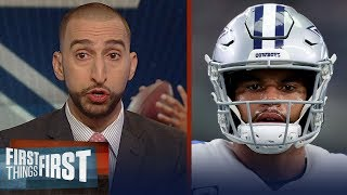 Download Nick and Cris discuss if Dak Prescott is hurting the Cowboys offense | NFL | FIRST THINGS FIRST Video