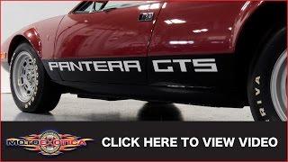 Download 1974 DeTomaso Pantera GTS (785 original miles) (SOLD) Video
