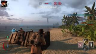 Download STAR WARS Battlefront Rogue One: Scarif Walker Assault gameplay (No commentary) Video