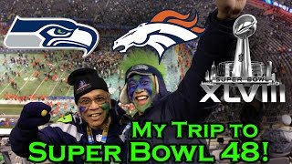 Download What's it like to go to a Super Bowl? My trip to SB 48! Video
