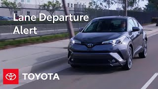 Download Toyota Safety Sense ™ Lane Departure Alert (LDA) Settings and Controls | Toyota Video