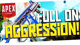 Download FULL ON AGGRESSION! - PS4 Apex Legends! Video