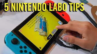 Download 5 Nintendo Labo tips to make building easier Video