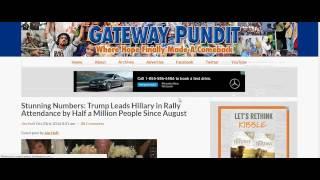 Download Donald Trump vs. Hillary Clinton Rally Crowds Video
