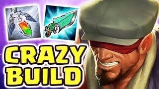 Download HOW IS THIS EVEN POSSIBLE ?! NEW GLOBAL ITEM FATALITY (LEE SIN JUNGLE) - Nightblue3 Video