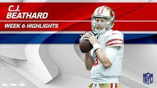 Download C.J. Beathard's Gritty Effort w/ 245 Yards & 1 TD! | 49ers vs. Redskins | Wk 6 Player Highlights Video